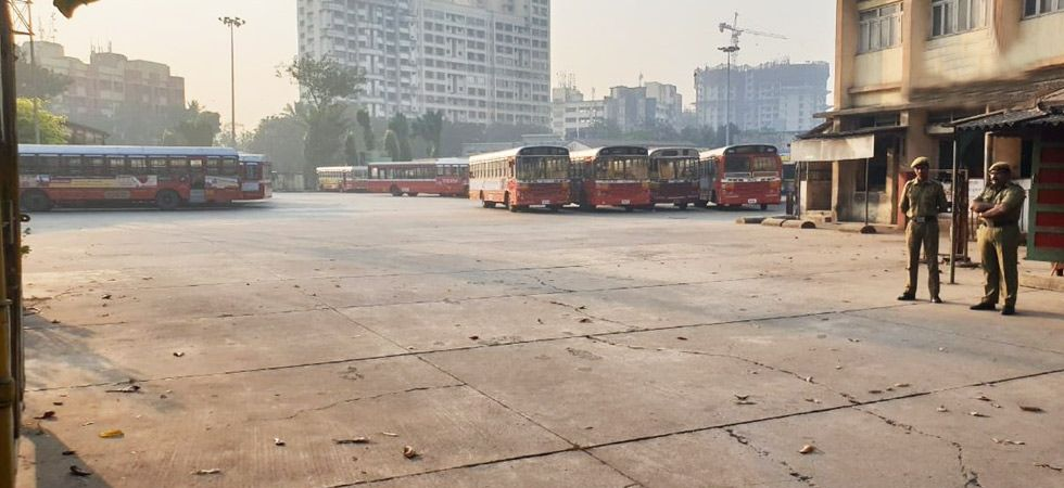 This strike is the longest-ever in the history of BEST, with the last agitation in 1997 called off in three days. (Photo: ANI)