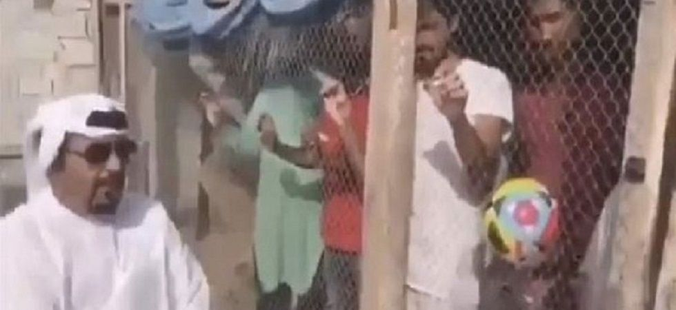 UAE man arrested for locking up Indian workers in a birdcage (Photo: Twitter)
