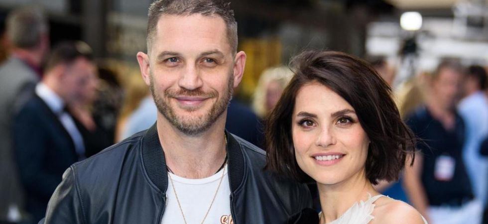 Tom Hardy and his wife, actor Charlotte Riley./ Image: Twitter