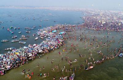 Kumbh Mela 2019: 2.25 crore devotees attend 'shahi snan', says UP CM Yogi Adityanath