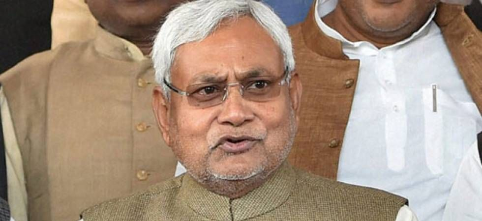 Nitish Kumar was speaking at an event organised by a private news channel