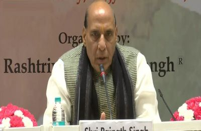 Mass conversion is a matter of concern for any country, says Rajnath Singh