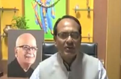 No Modi, Shah pics? Shivraj Singh Chouhan's video with Advani's photo in background goes viral