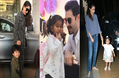Taimur Ali Khan, Inaaya Naumi, Nisha Kaur Weber and Laksshya merry dancing at a Birthday bash, Watch video