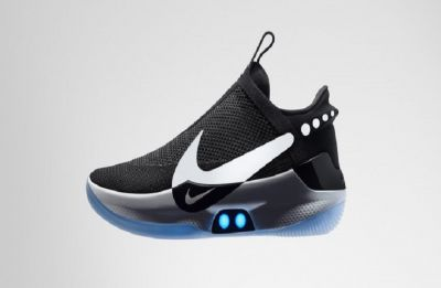 Nike's new self-lacing basketball shoes are digital smart too, rechargeable with a smartphone app