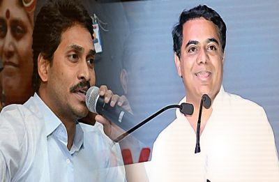 KCR's son KT Rama Rao meets YSR Congress chief Jagan Mohan Reddy over non-BJP, non-Congress front