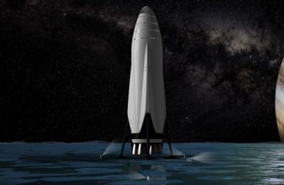 SpaceX to build Mars ships in Texas, not Los Angeles