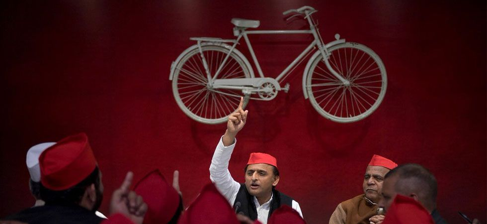 Akhilesh Yadav had recently met Jayant Chaudhary to discuss seat sharing issue. (Image Credit: Twitter)