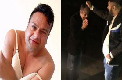 WATCH | Rakhi Sawant's boyfriend Deepak Kalal beaten up in Gurugram, can be seen begging for mercy