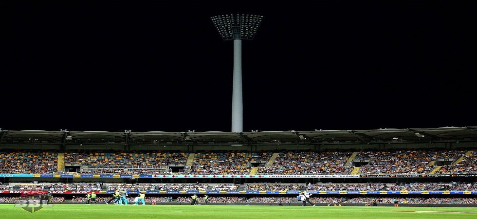 The Big Bash League game between Brisbane Heat and Sydney Thunder was abandoned due to a power failure at the Gabba. (Image credit: Big Bash League Twitter)