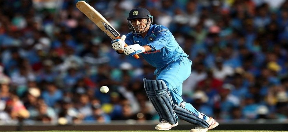 MS Dhoni hit his 70th fifty as India defeated Australia by seven wickets to win a bilateral series for the first time in history. (Image credit: Twitter)