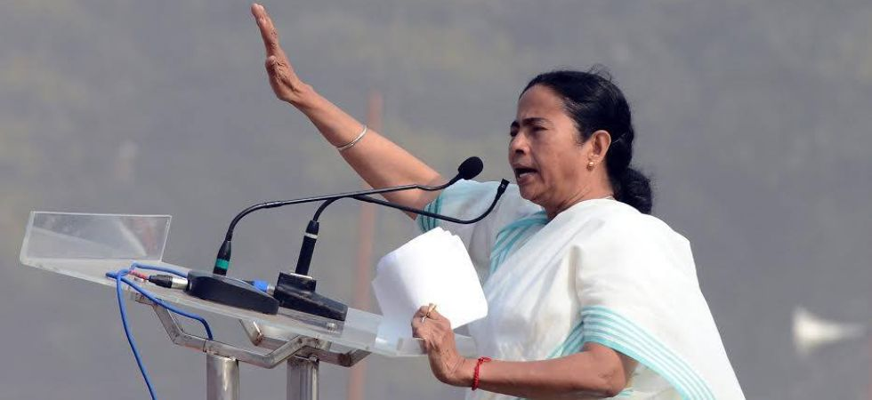 Mamata Banerjee, the brain behind the mega opposition rally, on Thursday said the regional parties would be the deciding factor in the Lok Sabha polls. (Photo tweeted by Trinamool Congress Twitter)