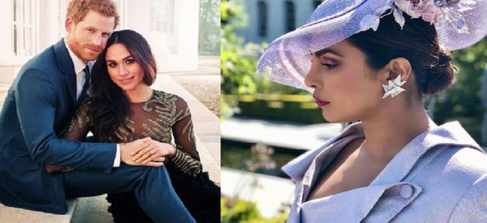 Priyanka Chopra may be the choice of godmother for Meghan Markle and Prince Harry's baby (Photo: Twitter)