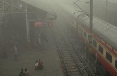 Trains, flights delayed as Delhi wakes up to foggy Friday morning