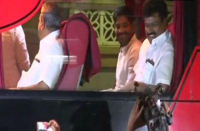 Congress moves its 76 Karnataka MLAs to resort after CLP meet