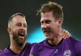 Watch - James Faulkner does an MS Dhoni in Big Bash League, blasts 16 in final over