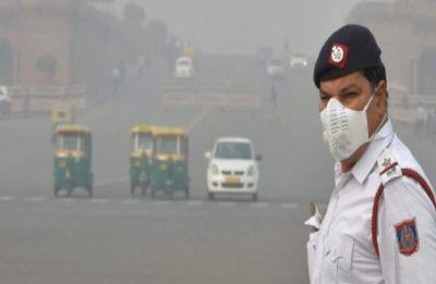 Delhi's air quality slightly improves but still under 'very poor' category