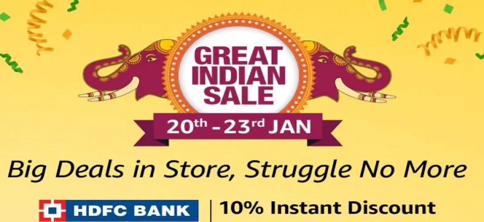 Amazon Great Indian Sale starts today, here are the best smartphone deals (Screen grab)