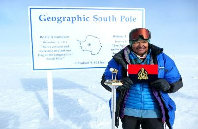 Aparna Kumar becomes first woman IPS officer to reach South Pole