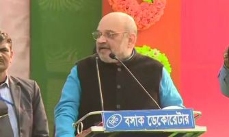 Only Narendra Modi can provide 'mazboot sarkaar,' says BJP chief Amit Shah in Bengal's Malda