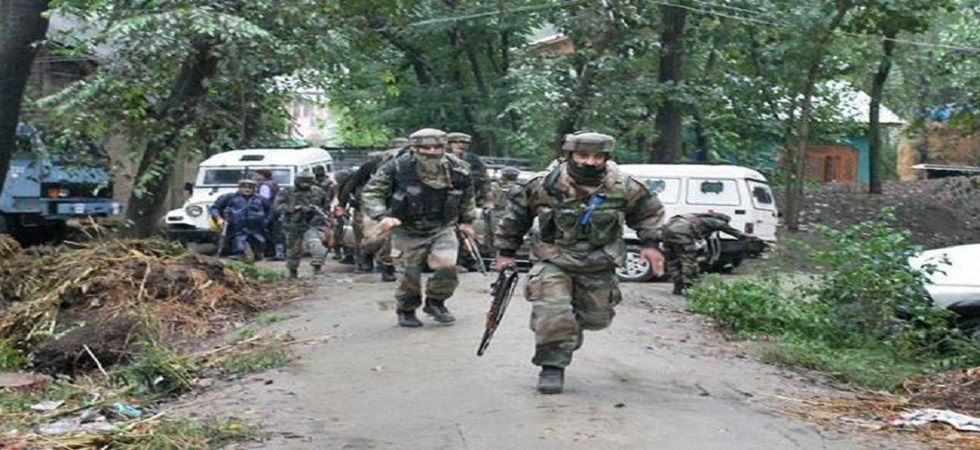 A fierce encounter had also broken out between terrorists and security forces at Hapat Naalah area of Zinpanchal on Monday also. (File photo)