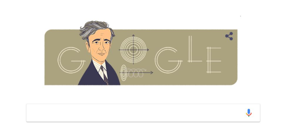 The Soviet physicist was born in Azerbaijan's Baku on January 22, 1908, as the son of an engineer and a physician.