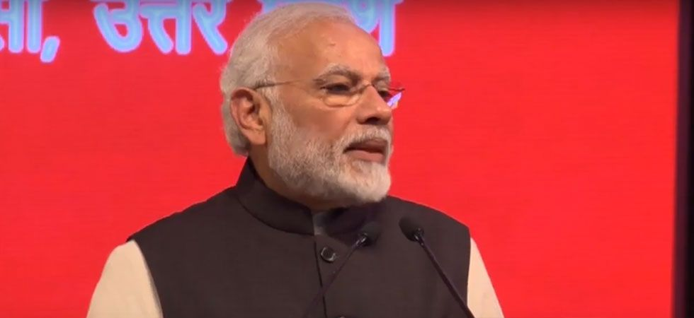 PM Modi said that his government used technology to end this loot of 85 per cent completely. (Image Credit: ANI)