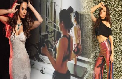 'Pilate girls' Malaika Arora Khan and Sara Ali Khan are giving out major 'Fitness Inspo' in this video!