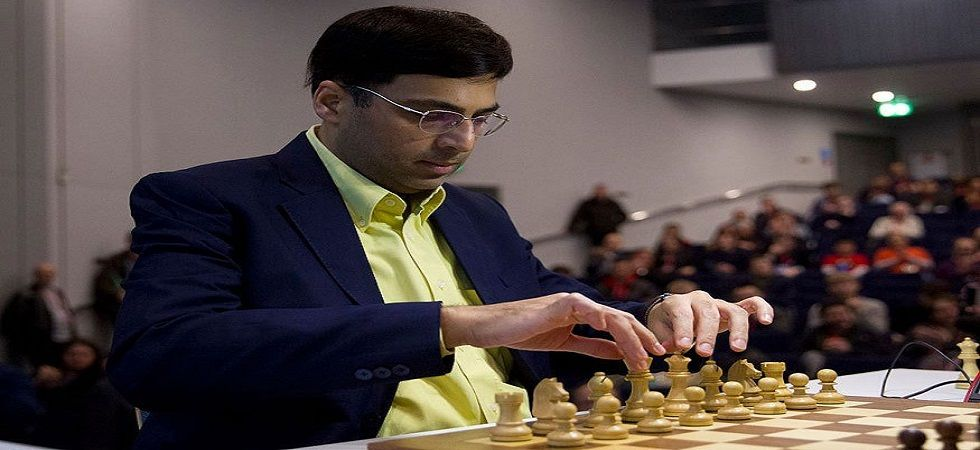 Viswanathan Anand is tied for the top spot with Magnus Carlsen and Ian Nepomniachtchi in the Tata Steel Chess tournament. (Image credit: Twitter)