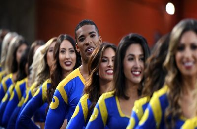History is made! This year Super Bowl will have its first ever MALE cheerleaders