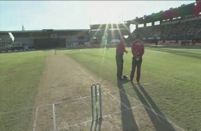 Play stopped due to sun! Yes, this has happened in India vs New Zealand Napier ODI