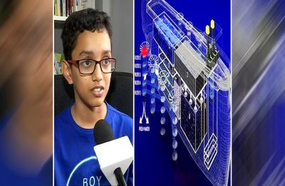 Pune's 12-year-old child prodigy designs ship to clean oceans, save marine life