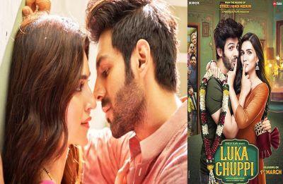 Kartik Aaryan and Kriti Sanon's Luka Chuppi first poster tells a tale, Trailer out tomorrow!