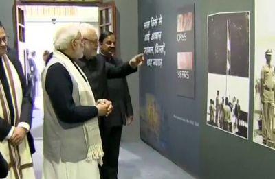 PM Modi inaugurates museum on Subhash Chandra Bose at Red Fort