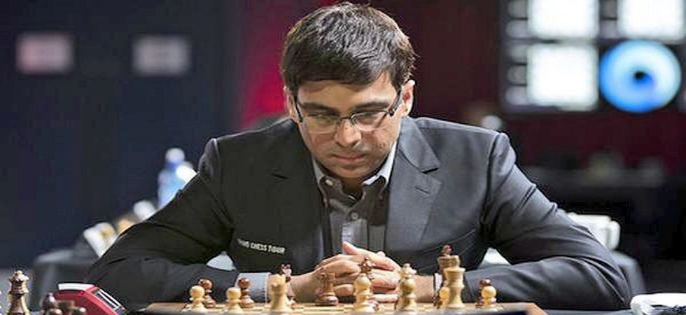 Viswanathan Anand slipped to fifth spot in the Tata Steel Chess championship after losing to Magnus Carlsen. (Image credit: Twitter)
