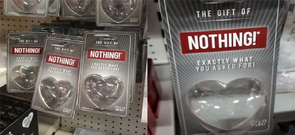 This 'Gift of Nothing' is the perfect gift to gift your ex this Valentine's Day (Photo: Twitter)