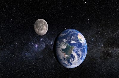 Earth received life supporting elements from planetary collision that created Moon, claims study