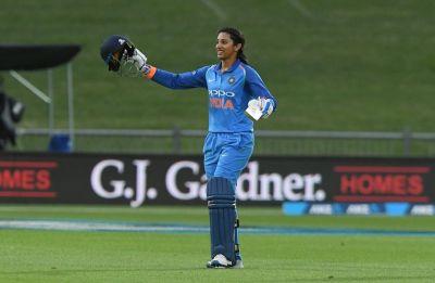 Smriti Mandhana blasts century as India women thrash New Zealand