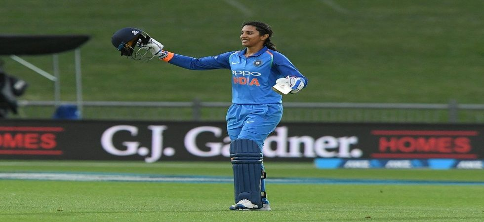 Smriti Mandhana blasted a wonderful century to give the India women's team a brilliant win over New Zealand. (Image credit: ICC Twitter)