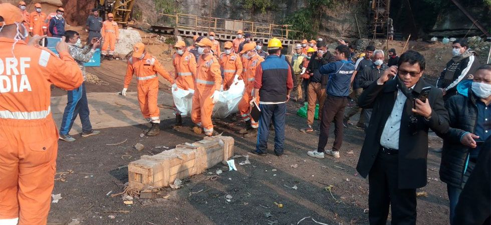 The miners had disappeared inside the mine on December 13 last year. (Image Credit: ANI)