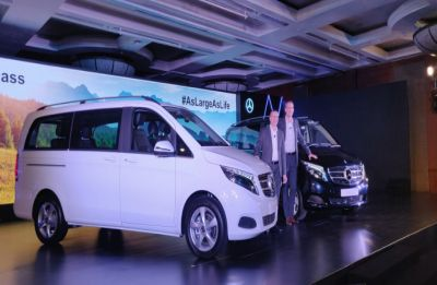 Mercedes-Benz V-class luxury MPV launched in India, check price and features