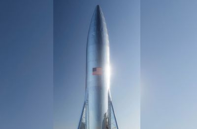 SpaceX prototype Starship's top half damaged by high-speed winds