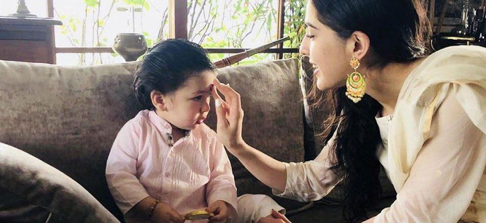 Sara was asked if Taimur is the biggest star of the family.
