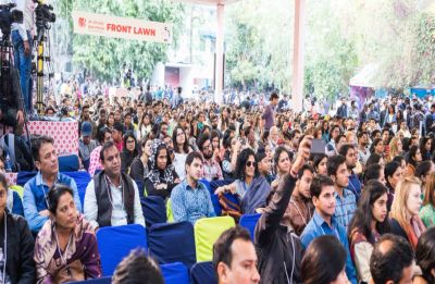 Jaipur Literature Festival 2019: 4 injured after a part of peepal tree falls on delegates
