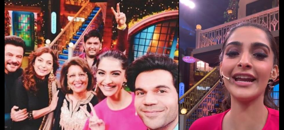 The upcoming episode will have the daughter-daddy duo, Sonam Kapoor and Anil Kapoor. Image: TKSS