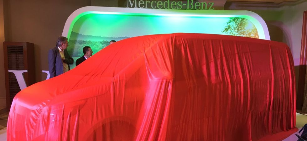 Mercedes Benz is all set to launch the new V-class luxury MPV./ Image: Twitter