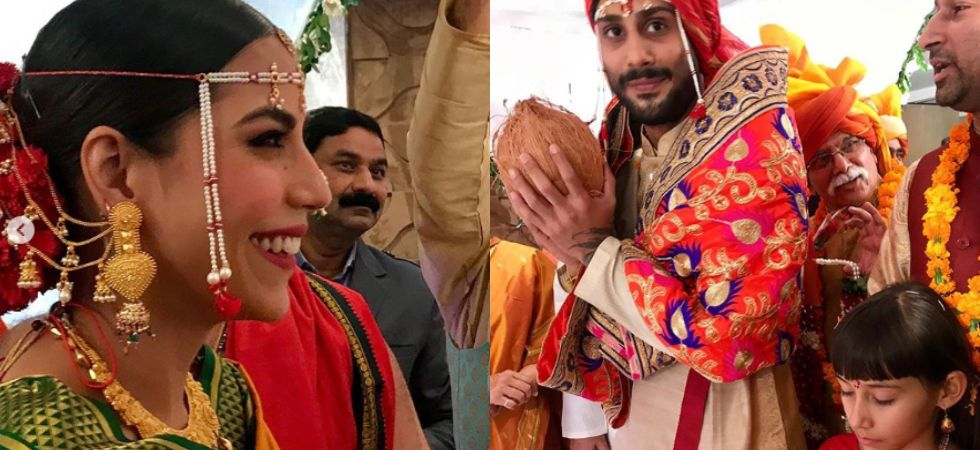 Prateik Babbar ties knot with his long-time girlfriend Sanya Sagar./ Image: Instagram