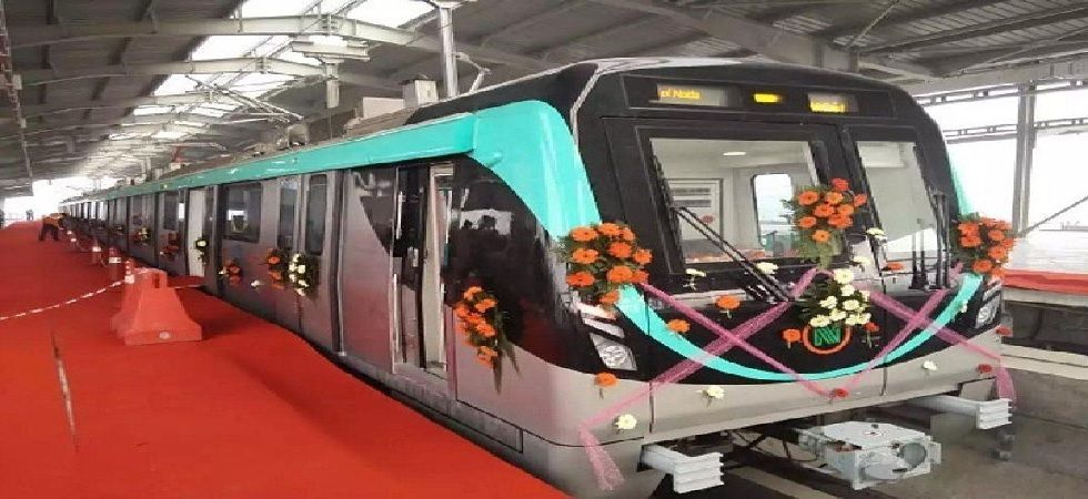 The trains are designed to run at a maximum speed of 80 km per hour with an average speed of 37.5 km per hour. ((Photo: Twitter@urbantransnews)