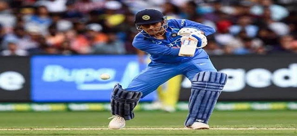 MS Dhoni blasted 48 off 33 balls to show his finishing prowess was not on the wane in the Bay Oval ODI against New Zealand. (Image credit: Twitter)