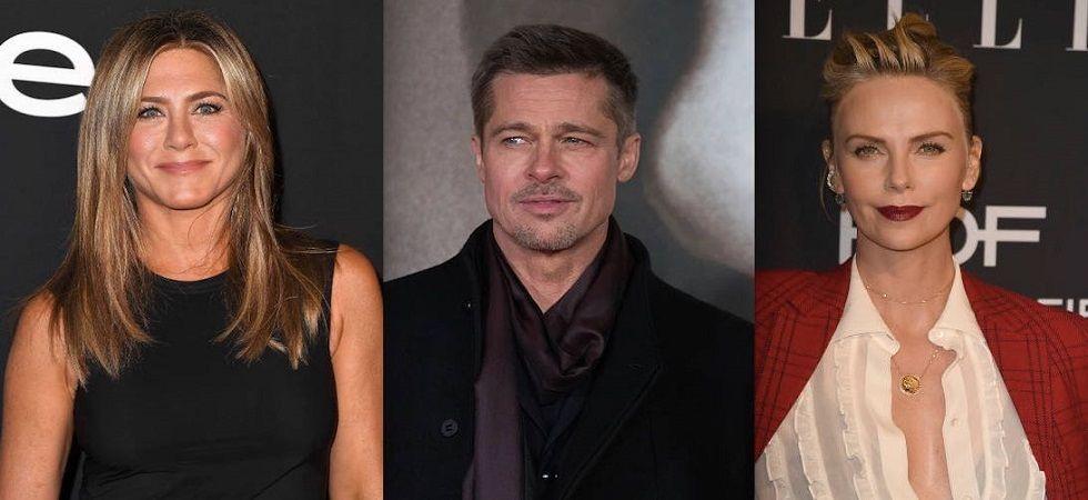 Is Brad Pitt torn between Charlize Theron of Jennifer Aniston ? (Photo: Twitter)